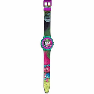 Trolls Unisex-Child Digital Watch with Plastic Strap TR17047