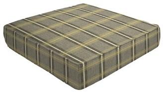 "Eddie Bauer Double Piped Outdoor Sunbrella Ottoman Cushion Size: 5"" H x 26"" W x 24"" D"
