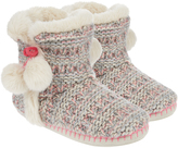 Accessorize Binx Chunky Knit Slipper Boots