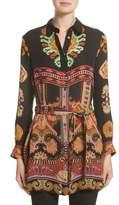 Etro Women's Suzani Print Silk Tunic