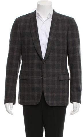 Christian Dior Wool & Cashmere-Blend Blazer