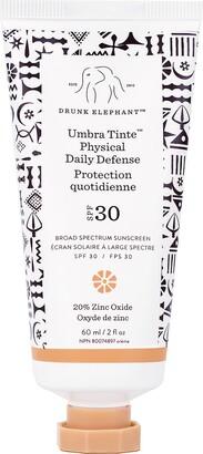 Drunk Elephant Umbra Tinte Physical Daily Defense Broad Spectrum Sunscreen SPF 30
