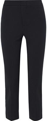 Bailey 44 Travis Metallic-trimmed Cady Slim-leg Pants