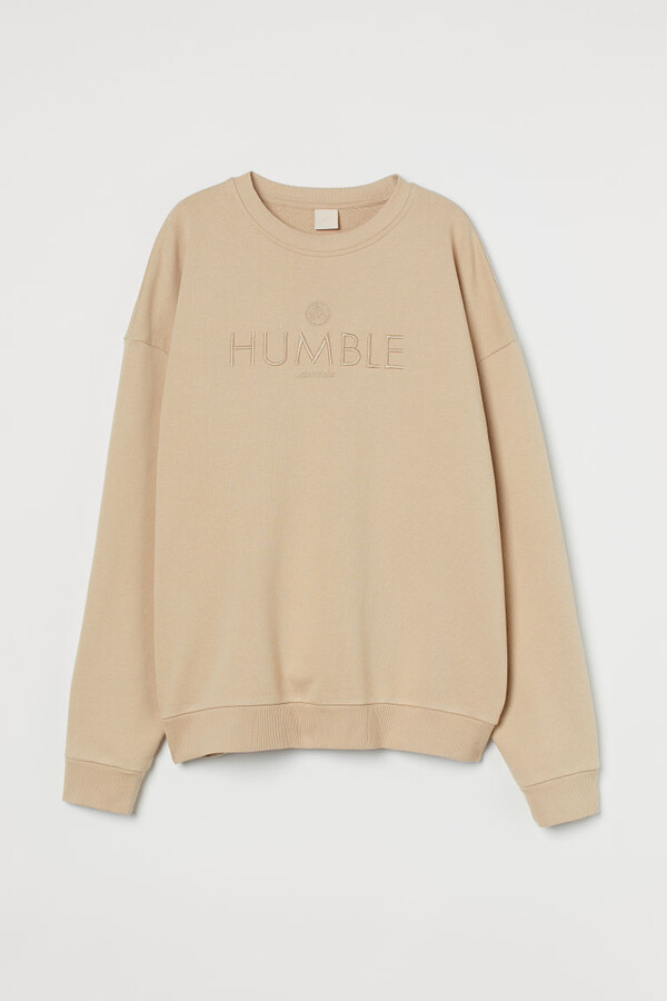Thumbnail for your product : H&M Oversized Sweatshirt - Beige