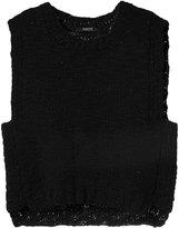 Derek Lam knitted cropped tank - women - Wool/Cashmere - XS