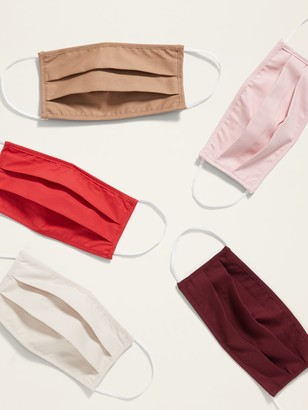 Old Navy Variety 5-Pack of Triple-Layer Cloth Face Masks for Adults