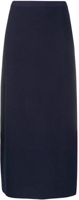 D-Exterior Metallized Knitted Skirt