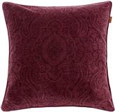 Gant Tiffany Velvet Cushion Purple Fig