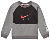 Nike Grey Air Hybrid Crew Sweater