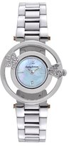 Tommy Bahama Swiss Women's TB4049 Bimini Starfish Round Mother-Of-Pearl Dial with Silver Tone Bracelet Watch