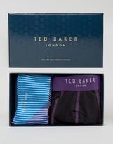 Ted Baker Trunks & Socks Gift Set