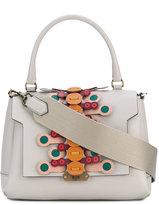 Anya Hindmarch Bathurst small flip satchel - women - Leather - One Size