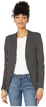 BCBGeneration Tuxedo Blazer - TQD4169939 (Black) Women's Jacket