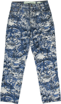 Off-White Printed Skinny Jeans - 26
