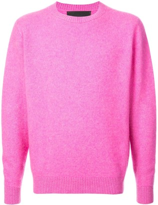 The Elder Statesman Crew Neck Sweater