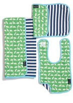 Infant Boy's Bella Tunno Bib, Burpie Cloth & Play Mat Set