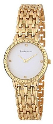 Jean Bellecour Unisex-Adult Analogue Classic Quartz Watch with Stainless Steel Strap REDS20-GW