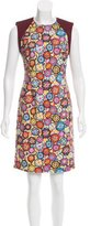 Emilio Pucci Printed Sheath Dress w/ Tags