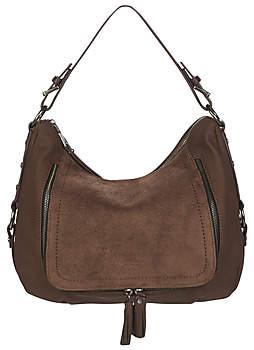 Fuchsia CALI women's Shoulder Bag in Brown