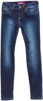 YMI Jeanswear Dark Wash WannaBettaFit Skinny Jeans - Girls