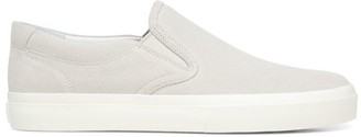 Vince Floyd Leather Slip-On Sneakers