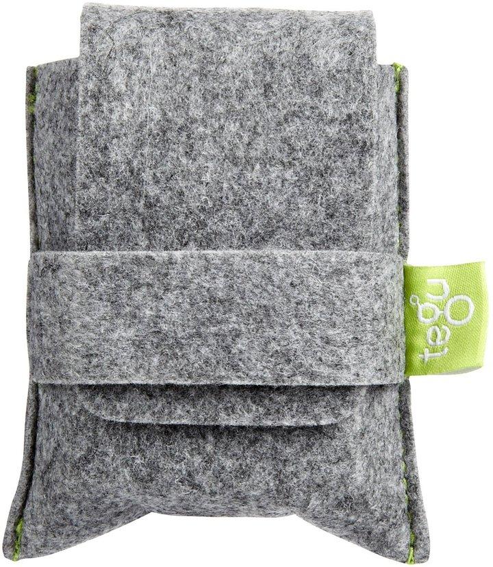 Green Baby Tegu Pocket Pouch Mahogany Magnetic Blocks (8 pc)