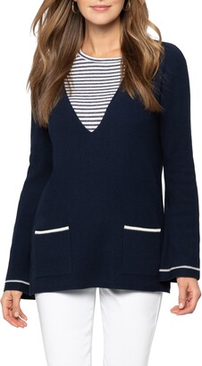 Nic+Zoe V-Neck Sweater