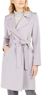 Michael Kors Michael Double-Face Wrap Coat