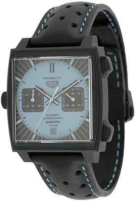 Bamford Watch Department customised Tag Heuer Monaco 39mm