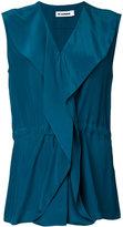 Jil Sander wrap blouse