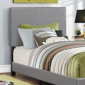 Ebern Designs Englevale Twin Panel Bed Color: Grey
