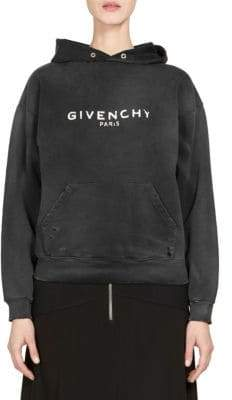 Givenchy Destroyed Long-Sleeve Sweater