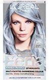L'Oreal Hair Color Feria Pastels, P1 Sapphire Smoke (Smokey Blue)