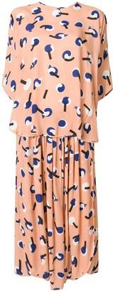 Henrik Vibskov Layered Print Dress