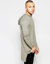 Asos Oversized Hoodie in Gray Cotton