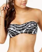 Bar III Kalediscope Printed Bandeau Bikini Top, Created for Macy's