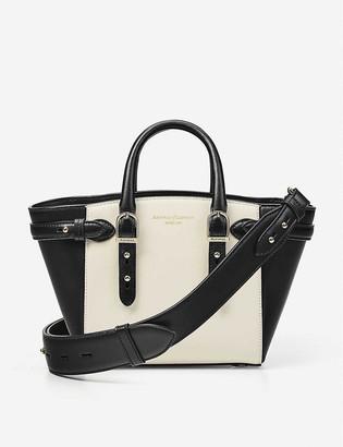 Aspinal of London Marylebone Mini leather shoulder bag