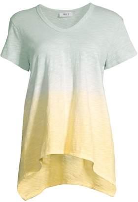 Wilt Shrunken Boyfriend Ombre T-Shirt