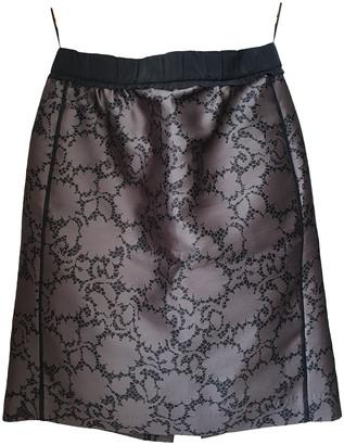 Louis Vuitton Purple Polyester Skirts