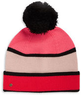 Kate Spade Colorblocked Knit Hat