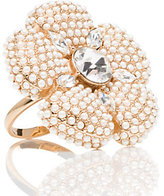 Kate Spade Posy petals cocktail ring