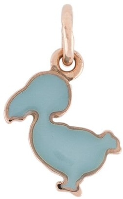 9kt rose gold Welcome Little One! Junior dodo charm