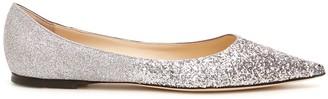 Jimmy Choo Glitter Love Flat Ballerinas