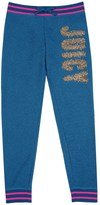 Juicy Couture Girls Fashion Track Lurex Juicy Slim Pant
