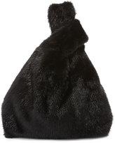 Simonetta Ravizza Furrissima Mink Fur Bag, Black