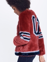 Mother Long Boxy Jacket - Daredevil's Run - Red Hot