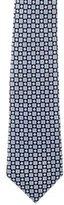 Chanel Silk Interlocking C Print Tie