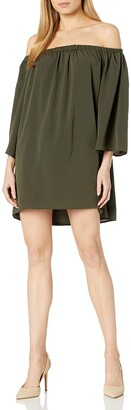 French Connection Women's Summer Crepe Light Ls Ots Dress