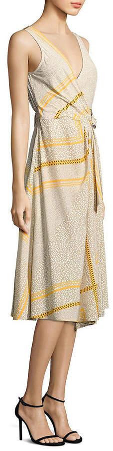 Derek Lam 10 Crosby Wrap Silk Dress