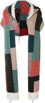 Stella McCartney printed hooded scarf - women - Virgin Wool - One Size
